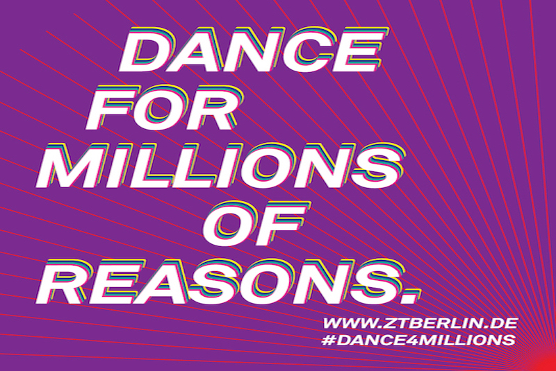 DANCE FOR MILLIONS OF REASONS