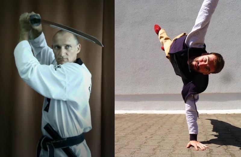 Taekwondo Tanz