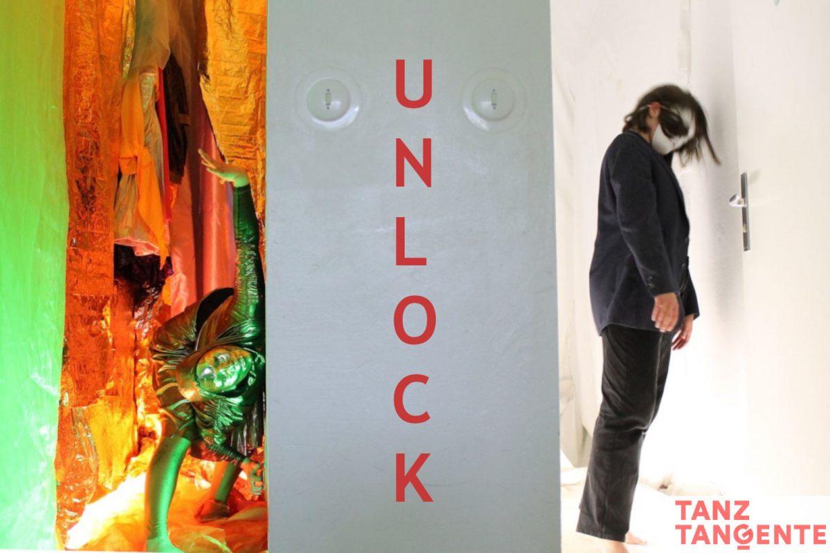 UNLOCK mit Logo